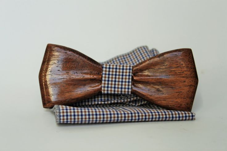A personal favorite from my Etsy shop https://www.etsy.com/listing/260299186/mens-wooden-bow-tie-with-pocket-square
