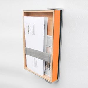 Clandestine Mail Holder Orange, 75€, now featured on Fab.
