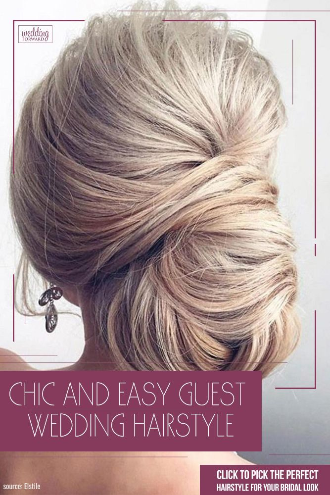 42 Chic And Easy Wedding Guest Hairstyles Summer Wedding