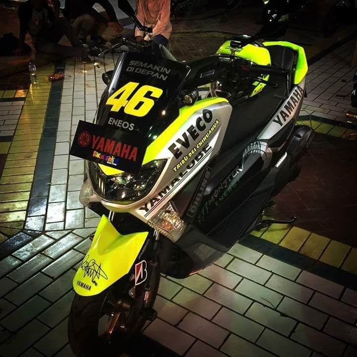 Booming Yamaha Nmax merambah sampai modifikasinya yang muncul dimana-mana…