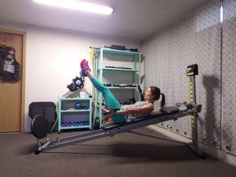 cassandra's hot abs workout  total gym workouts total