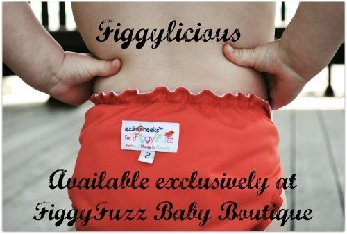 AppleCheeks FiggyFuzz's FIGGYLICIOUS Envelope Cover. Cloth diapers