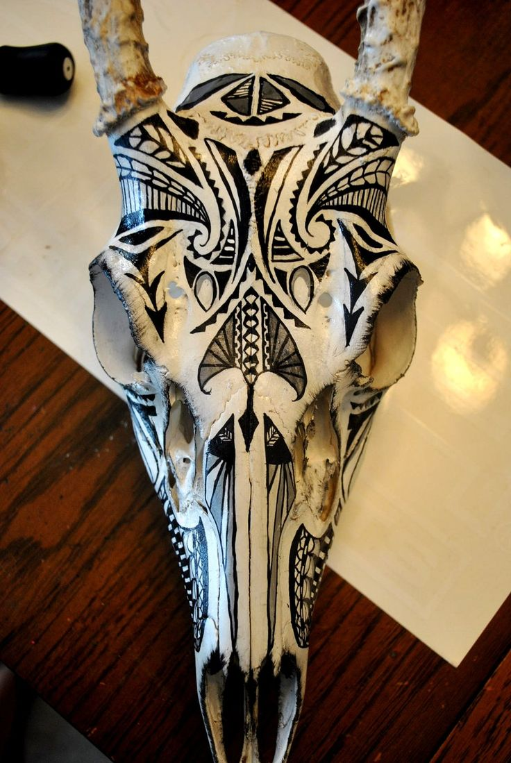Buck Skull Paint 1 by soulstrifer.deviantart.com on @DeviantArt