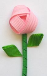 How to make Korkers (leaves and stems) baby hair bows
