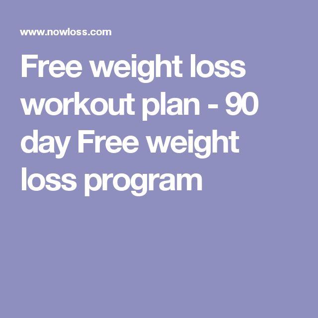 Free weight loss workout plan - 90 day Free weight loss program