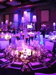 Ice Blue And Purple #wedding Decorations #uplighting #blue #violet