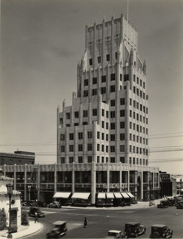 The E. Clem Wilson Building located on the northeast corner of Wilshire and La Brea