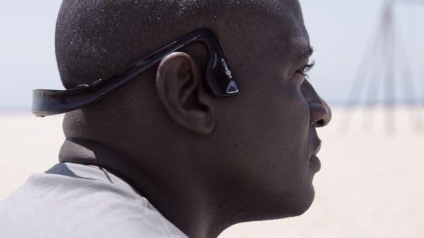 AfterShokz Bluez : Casque audio bluetooth par vibration osseuse par #WebLife et #Macway - #gadgets #high #tech #sportifs
