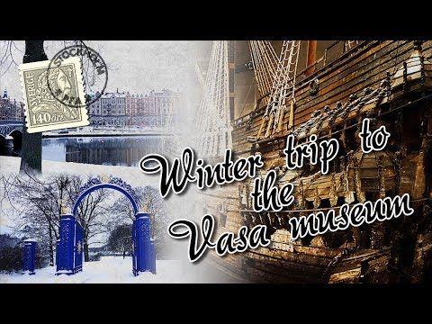 WINTER FUN IN STOCKHOLM at the Vasa Ship Museum! (Djurgården, Sweden)