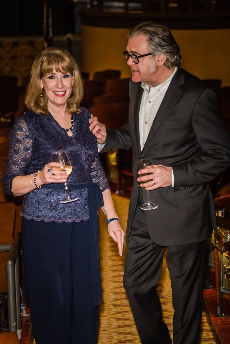 Downton Abbey's Phyllis Logan and Kevin McNally at the ...