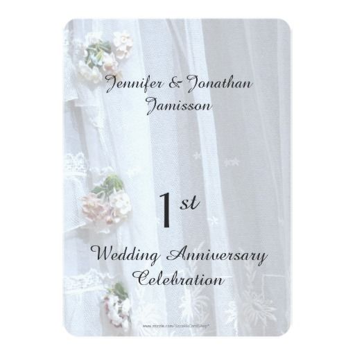 17 best 1st anniversary party invitations images on pinterest 1st wedding anniversary party vintage lace invitation stopboris Gallery