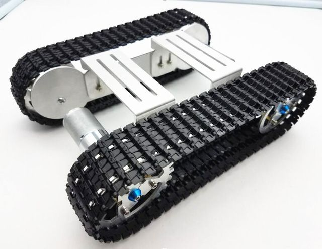 >> Click to Buy << Tracker Crawler Aluminium alloy Platform Damping balance Metal Tank Robot Chassis high power Spring Creative DIY crawler #Affiliate