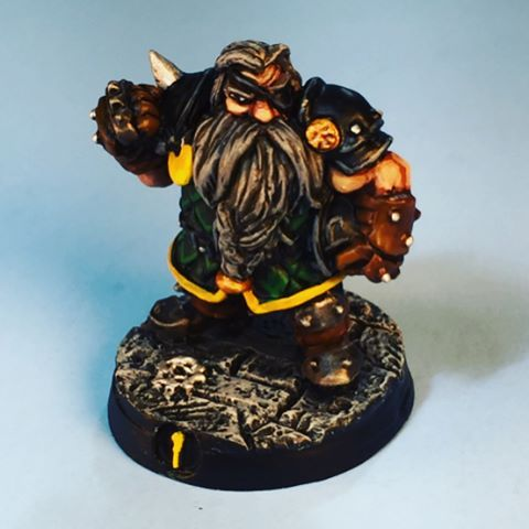 This was a commission that I did for a friend's son. It was his surprise birthday gift. Happy birthday Anthony. I hope you enjoy your team and I hope you win your tournament. #dwarf #dwarves #dwarfteam #bloodbowlteam #bloodbowl #gw #gamesworkshop #miniature #paintingminiatures #miniaturepainting #boardgames #tabletop #tabletopgame #tabletopgames #tabletopboardgame #nerdiness #naf #sincitybowl #boardgames #irongolem  #fantasyfootball  @perremark