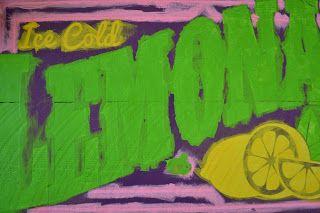 Burton Avenue: Old Fashioned Lemonade Sign