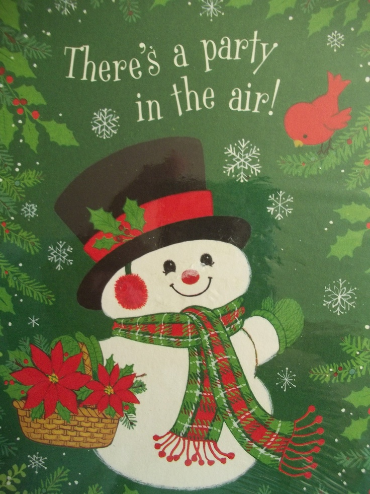 986 best Christmas Vintage-Snow People images on Pinterest | Cards ...