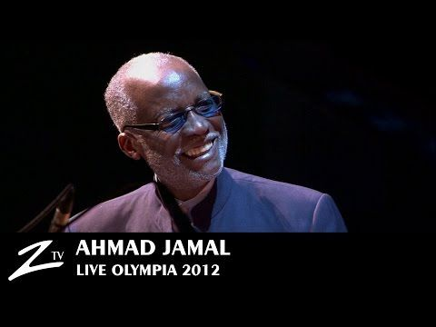 Ahmad Jamal - Poinciana - Olympia Paris - LIVE - YouTube