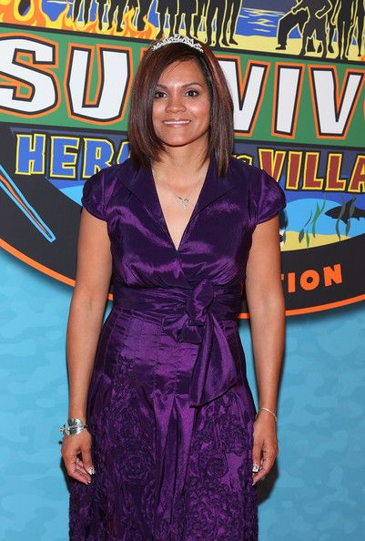"Sandra Diaz-Twine Photos - Winner of ''Survivor: Heroes Vs Villains'', Sandra Diaz-Twine attends the ''Survivor: Heroes Vs Villains'' finale reunion show at Ed Sullivan Theater on May 16, 2010 in New York City. - ""Survivor: Heroes Vs Villains"" Finale Reunion Show"