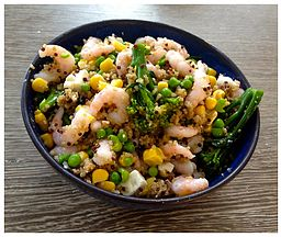 Quinoa Seafood Salad