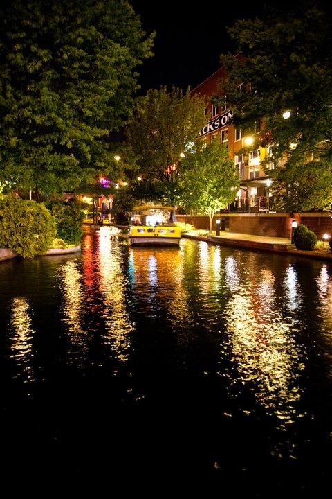 Bricktown Oklahoma City - have taken this little boat ride--super fun!