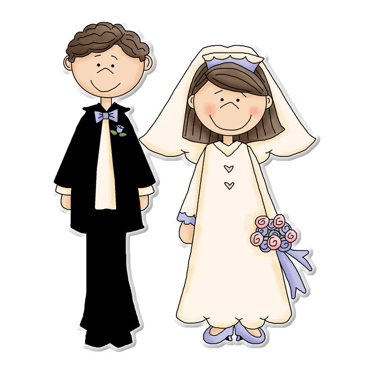 135 Best Clipart Bride Groom Images On Pinterest