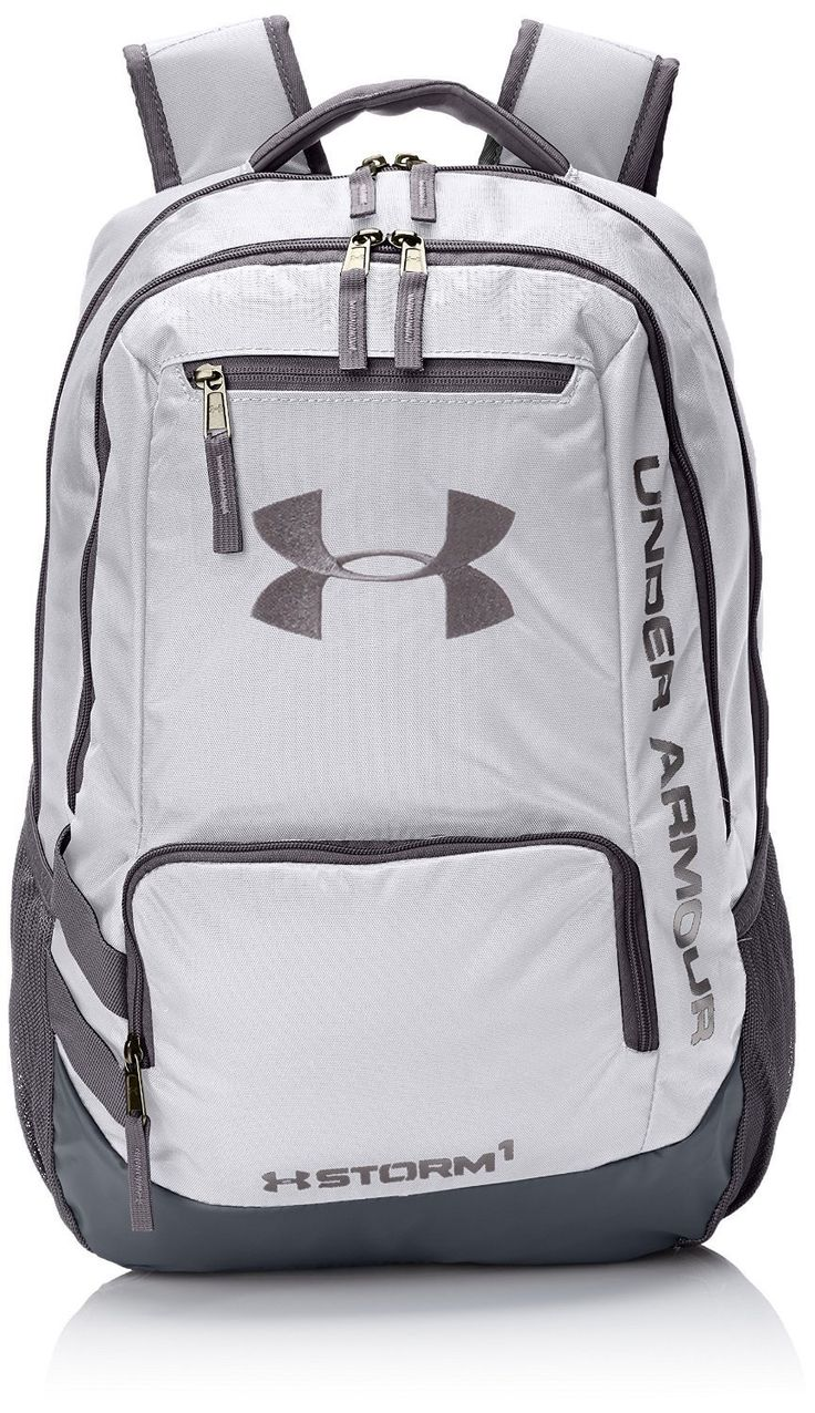 Under Armour Hustle II Premium Backpack - White ** Details can be found by clicking on the image.