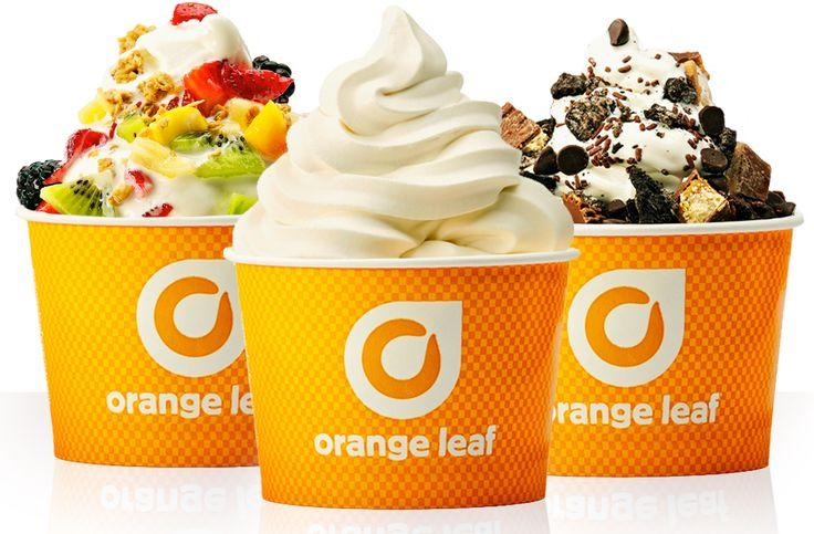 Orange Leaf Frozen Yogurt: Free Cup of Frozen Yogurt w/ Toppings (April26th)