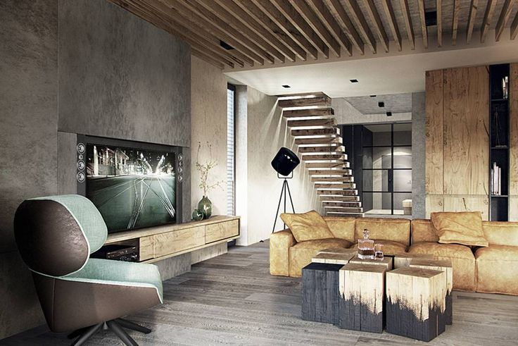 modern Living room photos by razoo-architekci | homify