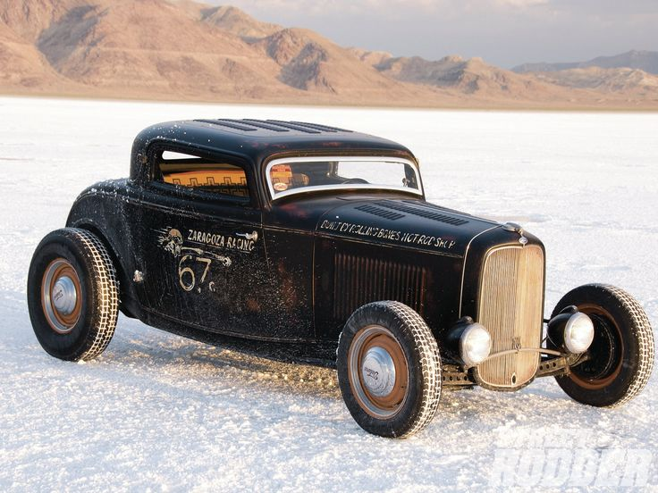 '32 Ford 3 window coupe built by Rolling Bones Speed Shop