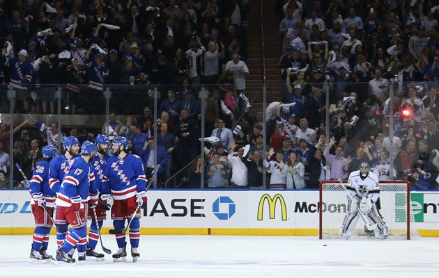 Sports Nut Emporium would like to wish the New york Rangers good luck ,as they face the LA Kings tonigh . Bring the series back home boys.t