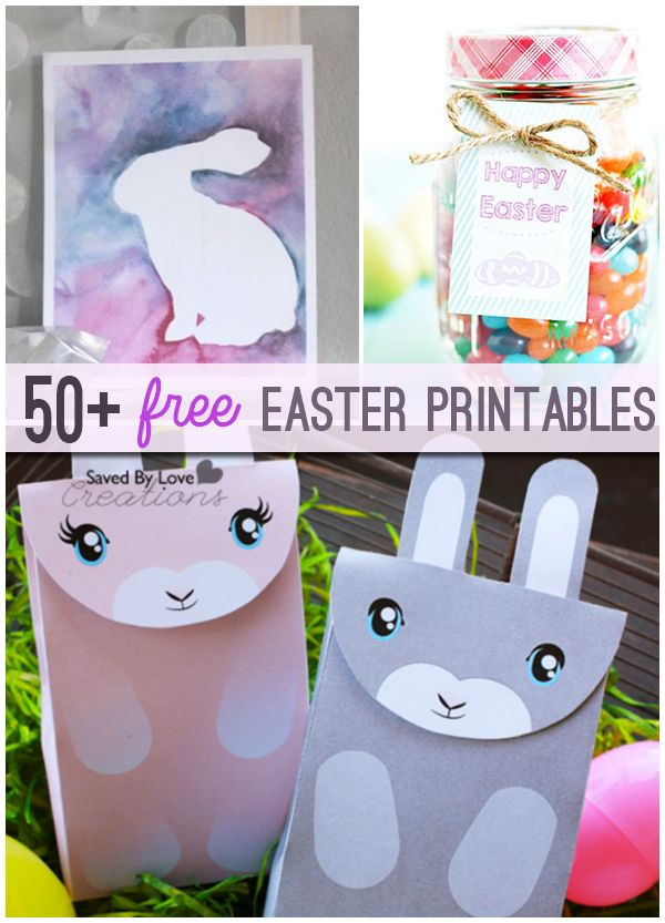 The 50 Plus Best Free Easter Printables