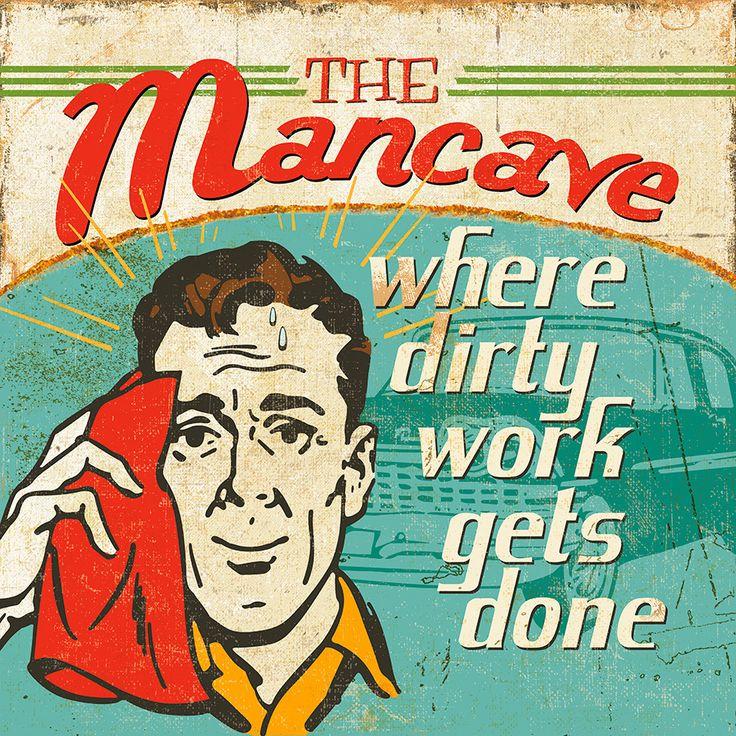Masterpiece Art - Mancave III Where Dirty Work Gets Done, $18.30 (http://www.masterpieceart.com.au/mancave-iii-where-dirty-work-gets-done/)