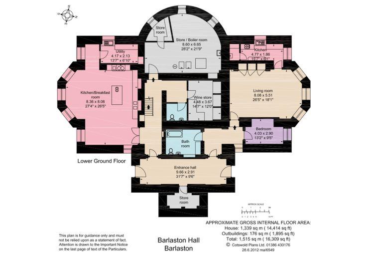 32 Barlaston Hall Basement Floor Plan Dreams