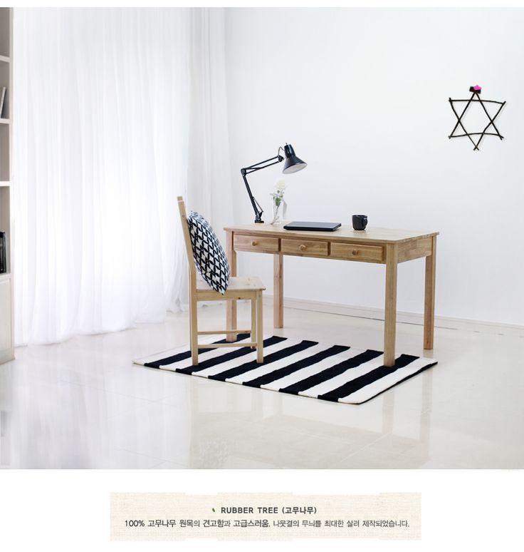 [기프트] 원목 서랍 테이블 120 | YES24 상품정보
