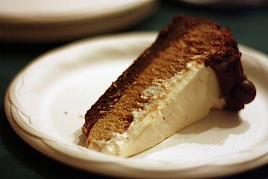Merry Christmas) Cappuccino Fudge Cheesecake - Healthy. Delicious.