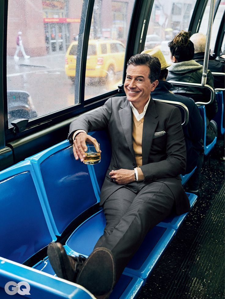 How to Get Stephen Colbert's Smoking Suit Style | GQ
