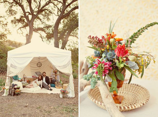 Bohemian Style Backyards :  Bohemian Weddings, Bohemian Style, Bohemian Backyards, Wedding Couples