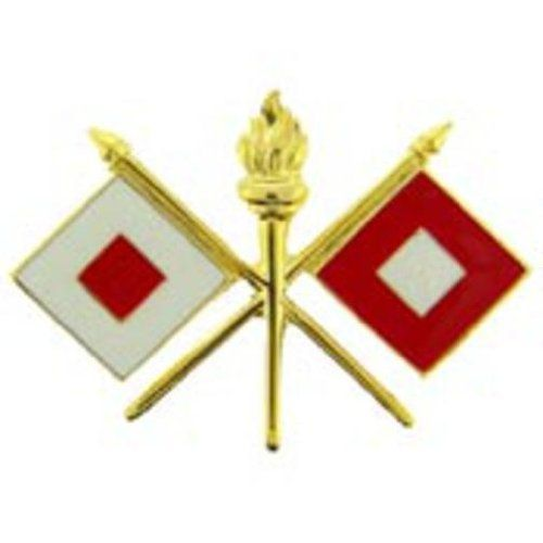 """U.S. Army Signal Corps Pin 1"""" by FindingKing. $8.99. This is a new U.S. Army Signal Corps Pin 1"""""""
