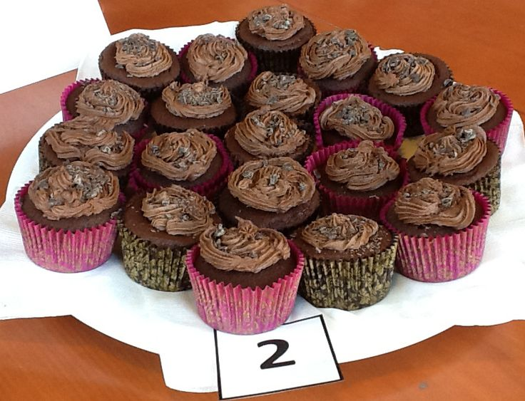 Third Place - Chocolate Cup Cakes