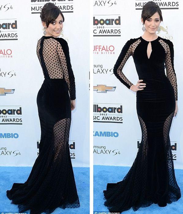 Emmy Rossum at Billboard Music Awards 2013