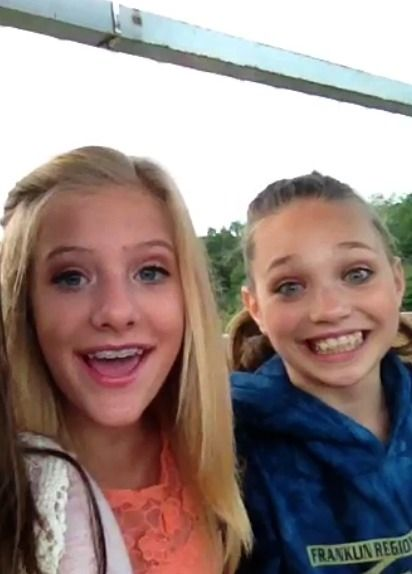 dance moms paige and maddie