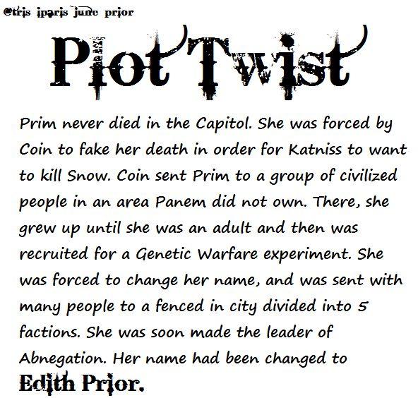 Hunger Games Plot Twist OMG!