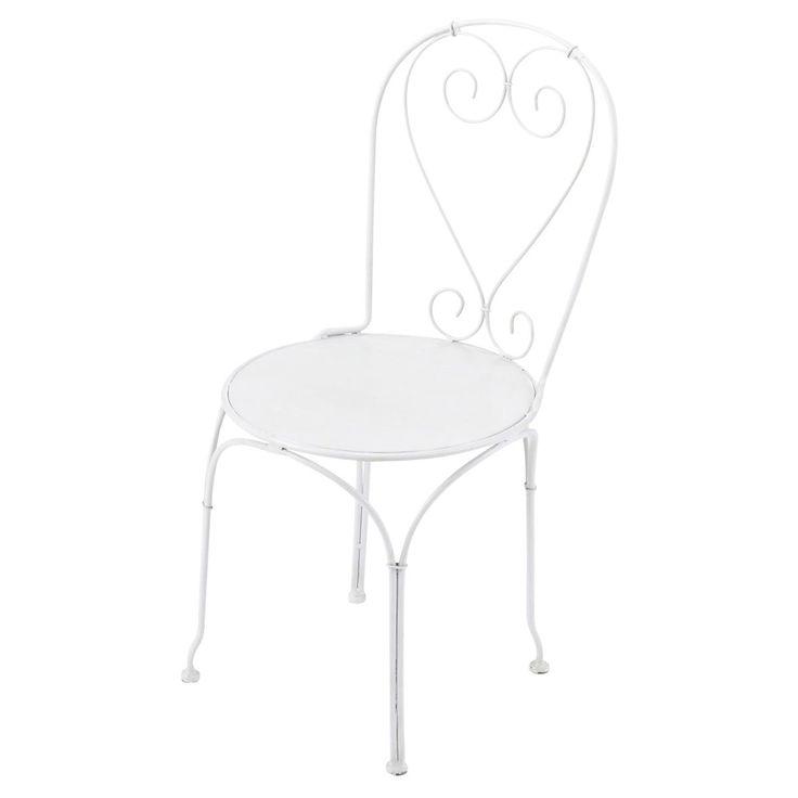 17 mejores ideas sobre sillas de hierro forjado en - Leroy merlin muebles de jardin y terraza saint etienne ...
