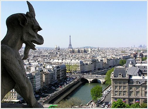 Paris, probably the best city in the world.