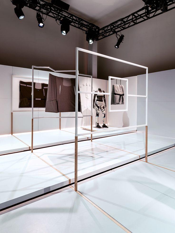 Bonsoir Paris x Nike Johanna F.Schneider x Nike collaboration installation, New York