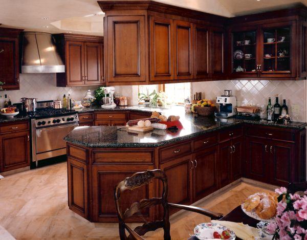 Kitchen Design Ideas With Cherry Cabinets 21 best kitchen remodel ideas images on pinterest | kitchen ideas