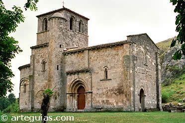 Monasterio de Rodilla. Joya de la Bureba. Burgos