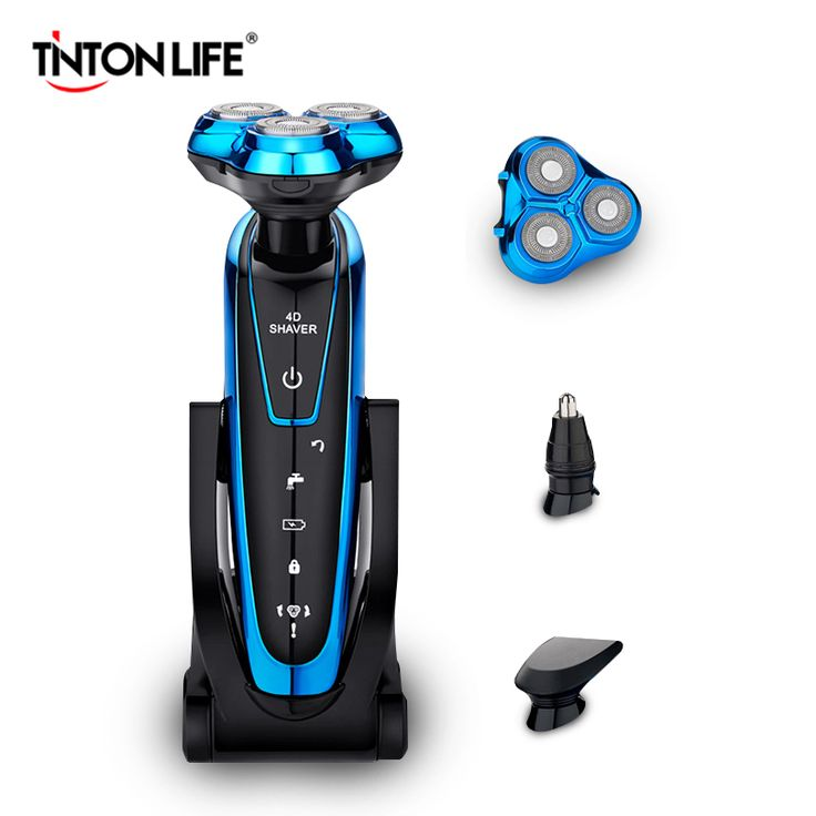 buy tinton life washable rechargeable electric shaver electric shaving men beard shaving machine razor #shaving #blade