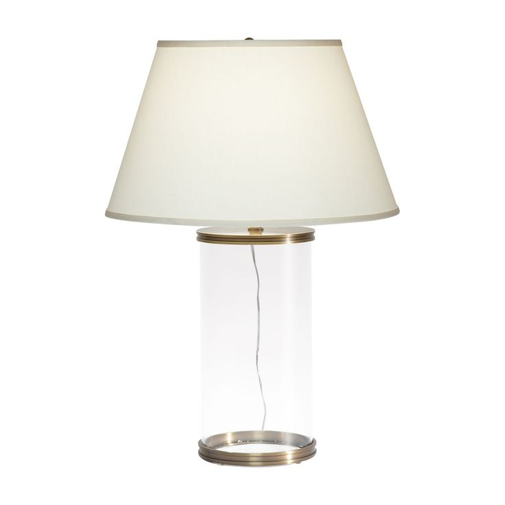 Aliyah Brass Table Lamp   Ethan Allen US