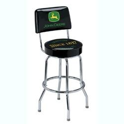 John Deere Genuine Quality Barstool With Backrest