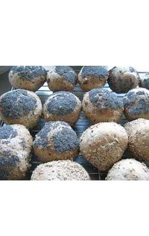 Gluten- og gærfri boller